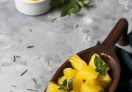 Flambirowany ananas