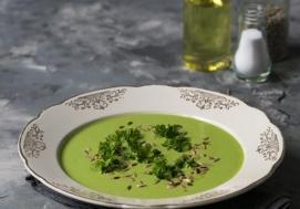 Zupa krem z zielonych warzyw (4 porcje)